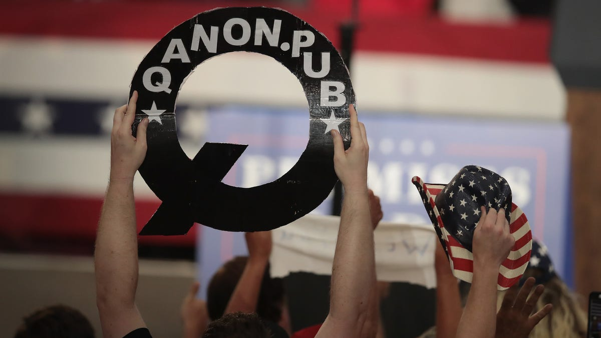 Major QAnon Site Shutters After Operator Gets Outed