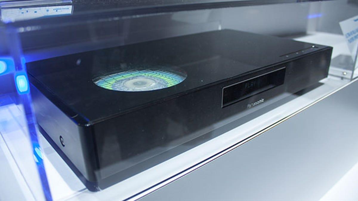 Panasonic's 4K Blu-Ray Player Could Make Discs Matter Again