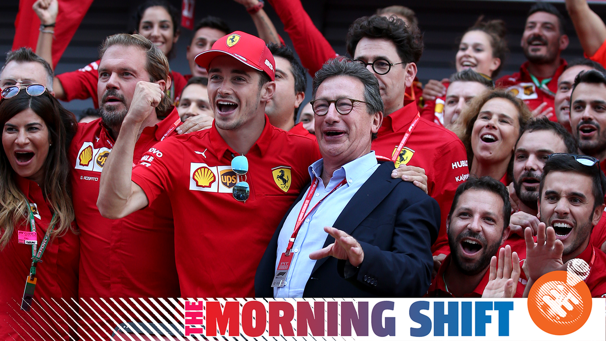 New Ferrari CEO Suddenly Steps Down After COVID-19 Hospitalization