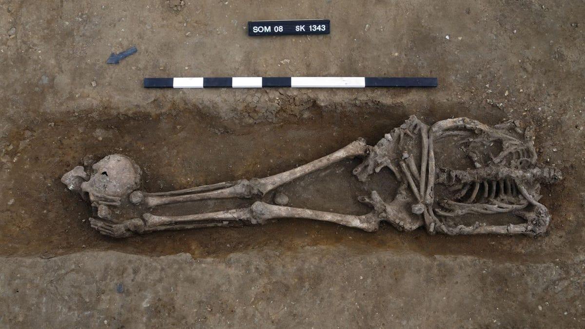 Encuentran 17 esqueletos decapitados en un antiguo cementerio romano