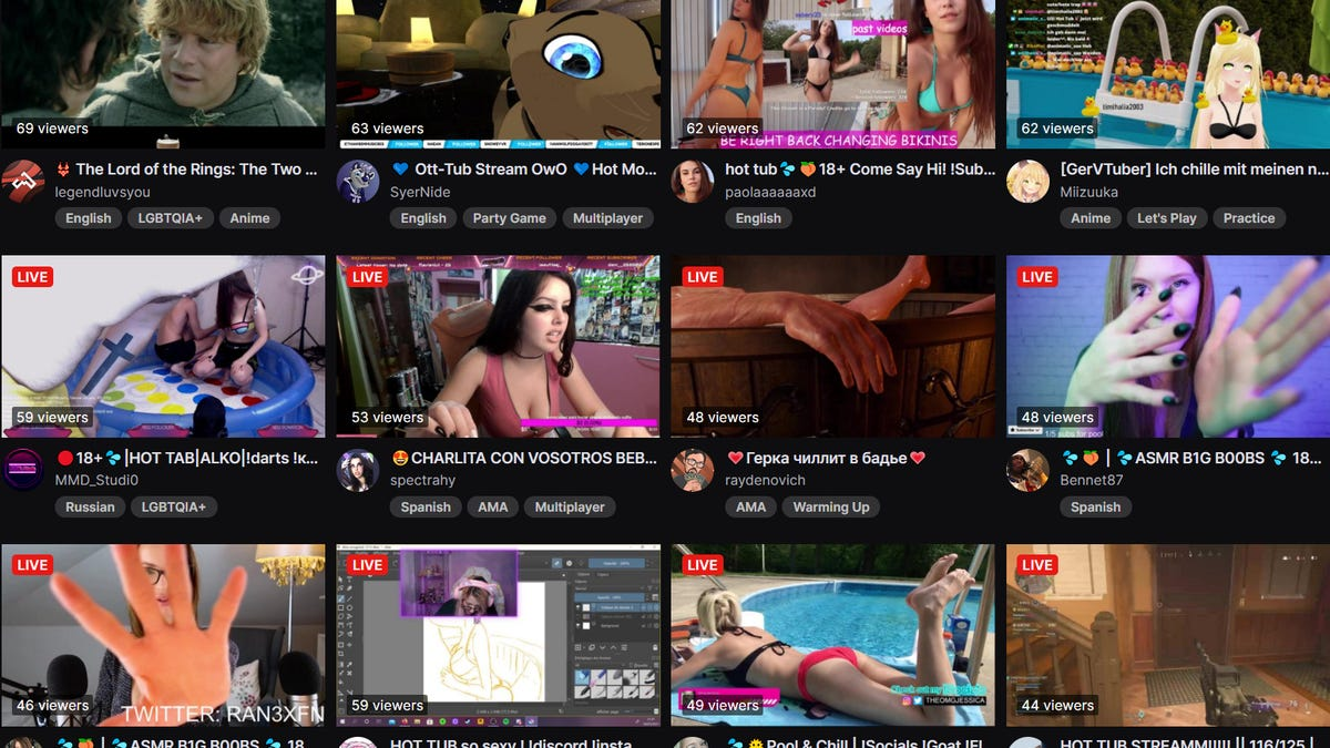 Twitch's New Hot Tub Category Is Full Of Parodies, Fakes, And Scams