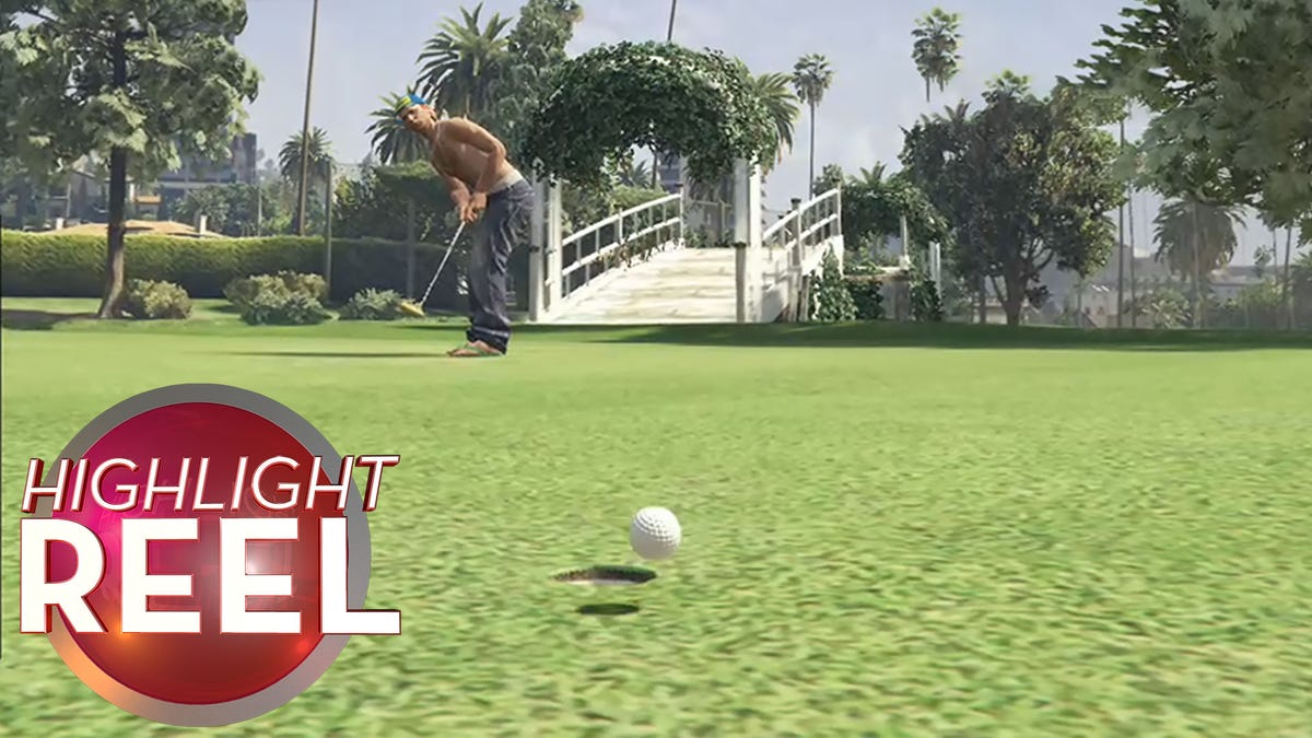 GTA Golfer Fights Physics And Loses