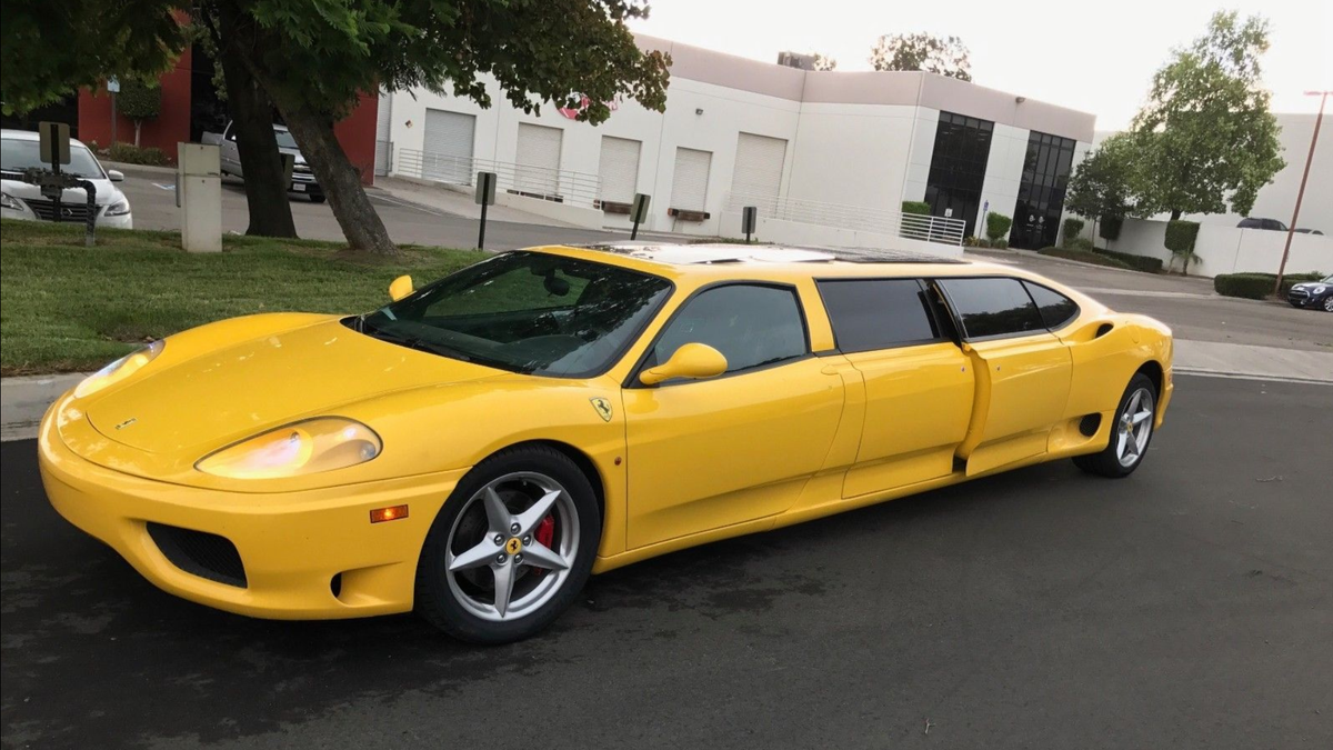 I Can\u0027t Imagine Why Nobody Wanted This Ferrari 360 Limo