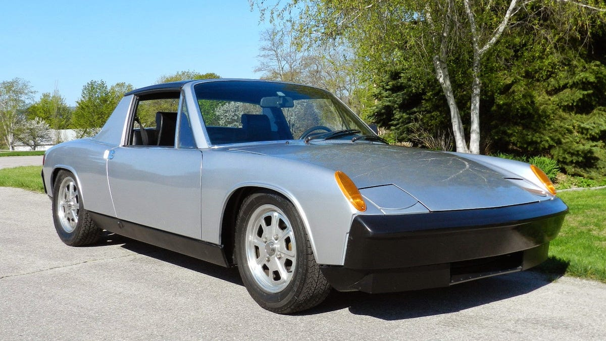 This Ls1 Powered Porsche 914 Is So Clean I Want To Eat It