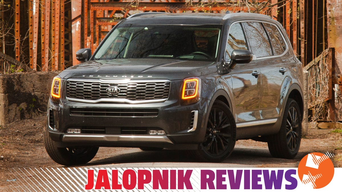 The Kia Telluride Makes This Look Easy