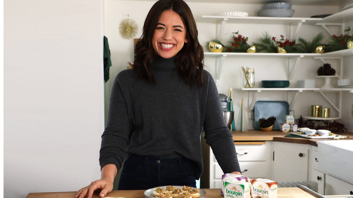 We ask Molly Yeh the difference between a savory cookie and a cracker