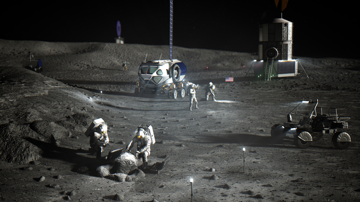 NASA Finally Puts a Price Tag on 2024 Moon Landing