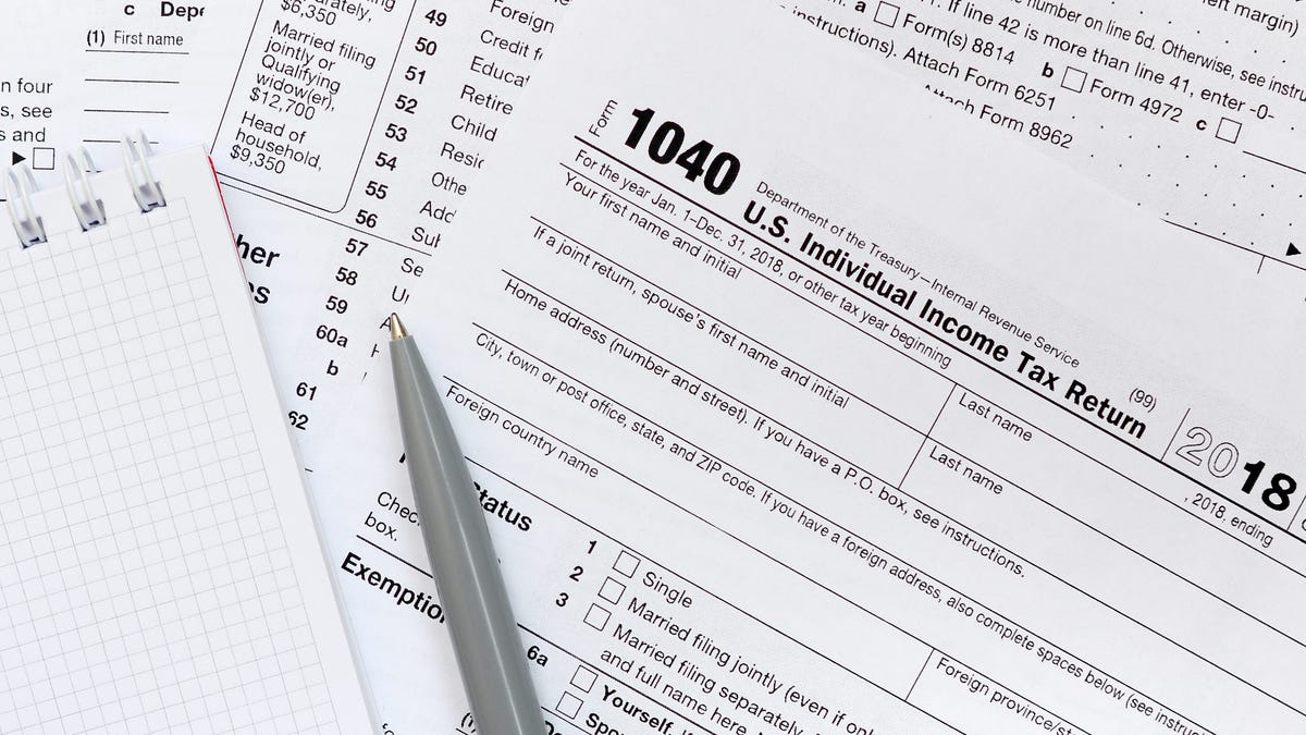 Taxes For 2018 - cover
