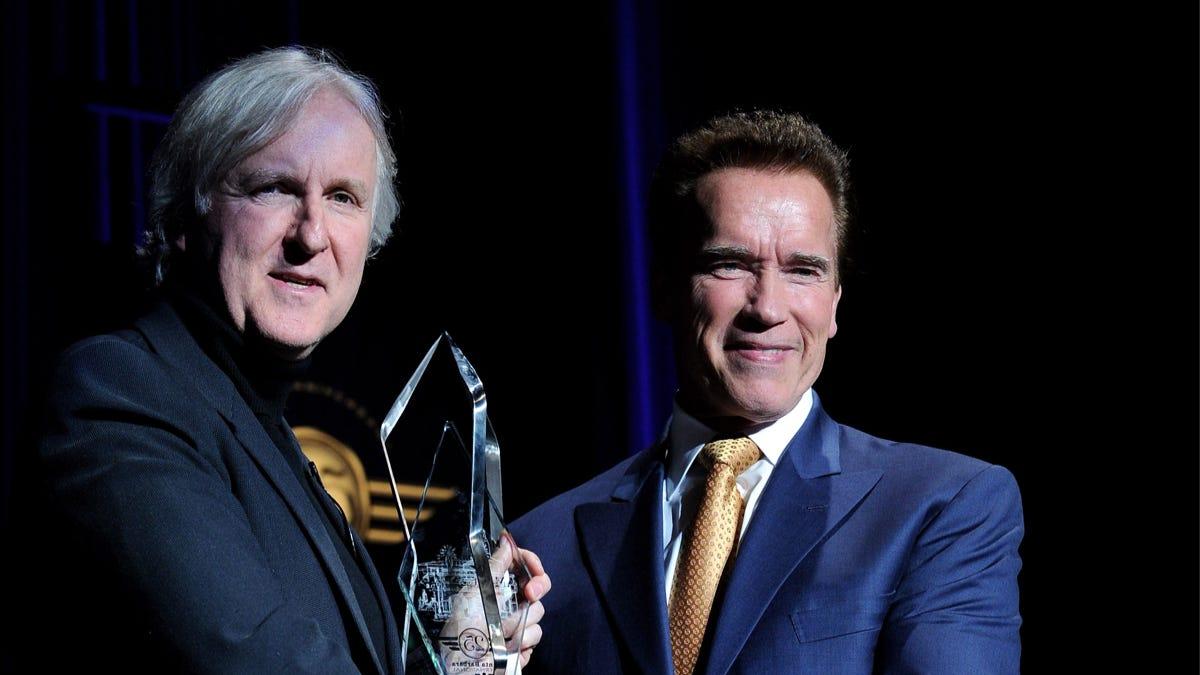 Arnold Schwarzenegger Will Reteam With James Cameron for the Next Terminator Movie
