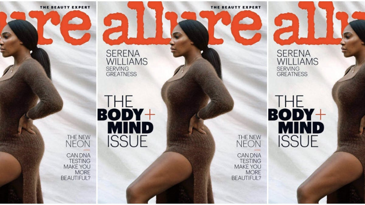 Serena Williams Covers Allure's 'Body & Mind' Issue Immature Romeo Eye Patch
