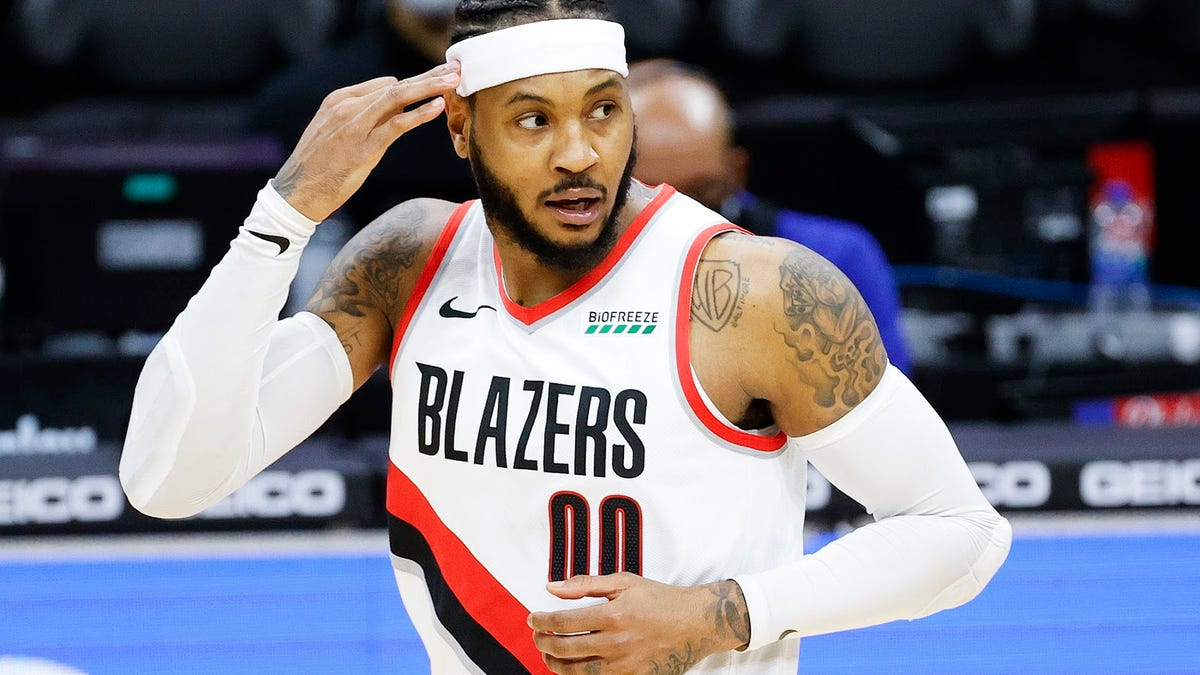 Recent stretch shows Carmelo Anthony could be Portland's X-Factor as he climbs NBA all-time scoring ranks