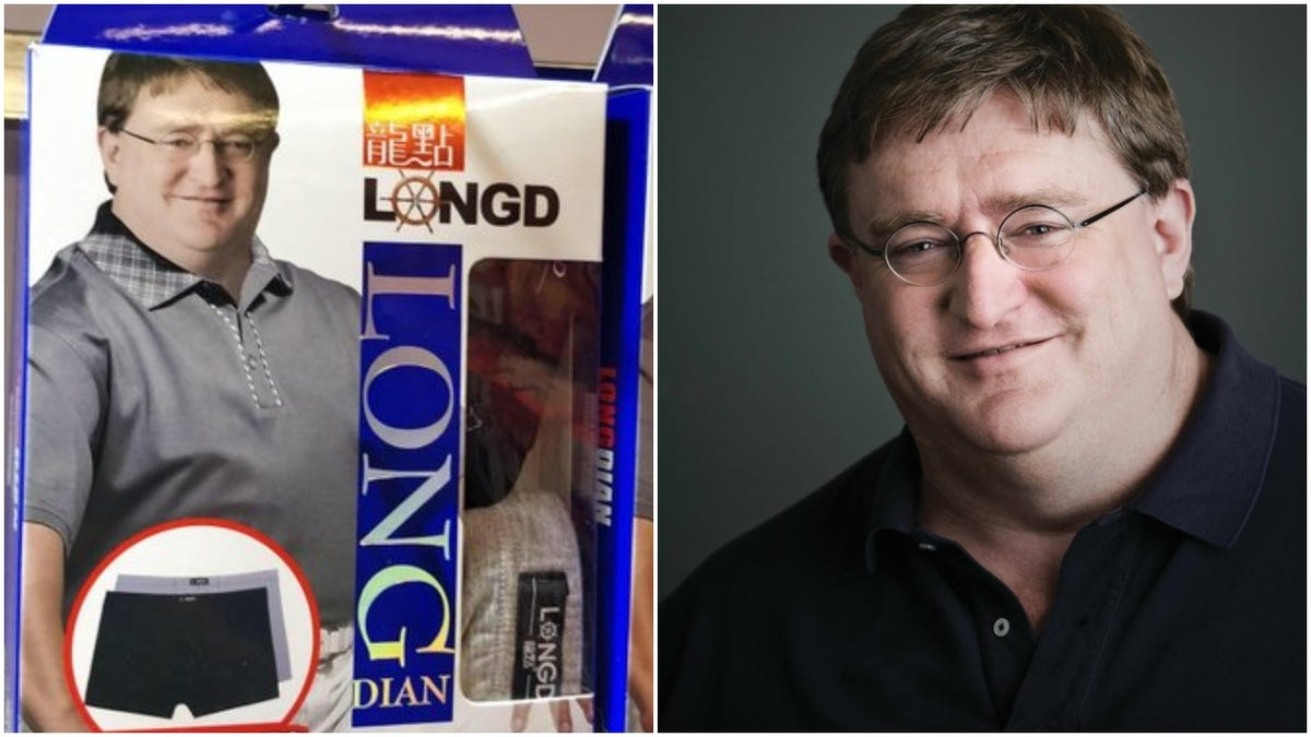 Gabe Newell's Likeness Is Still Selling Underwear In China