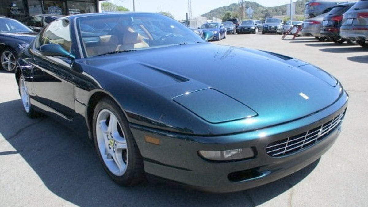 At $59,998, Could This 1995 Ferrari 456 GT Put Some Grand In Your Touring?