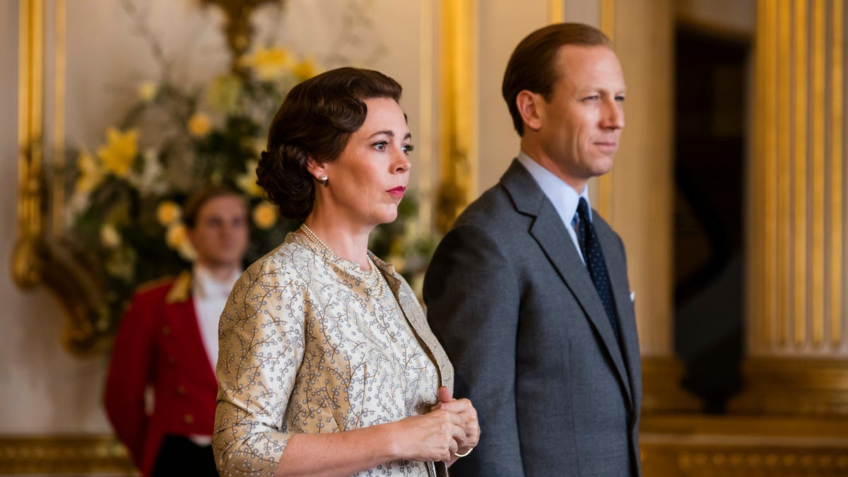 Might we suggest that one might spend one's Sunday watching The Crown?