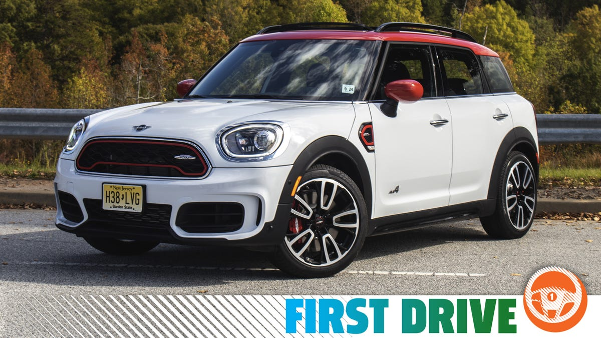 The 301 HP 2020 Mini JCW Countryman Proves More Power Fixes Almost Anything