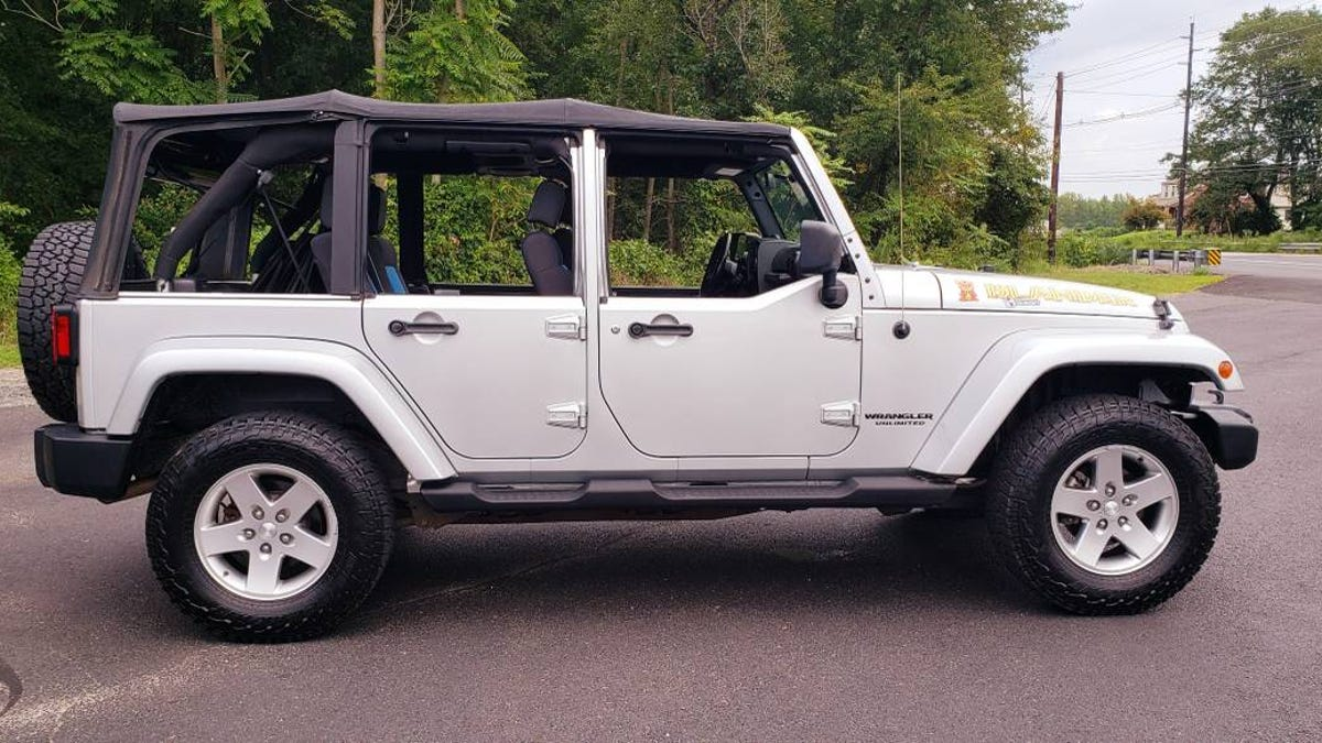 At $15,700, Might You Be Open To This 2010 Jeep Wrangler Islander?