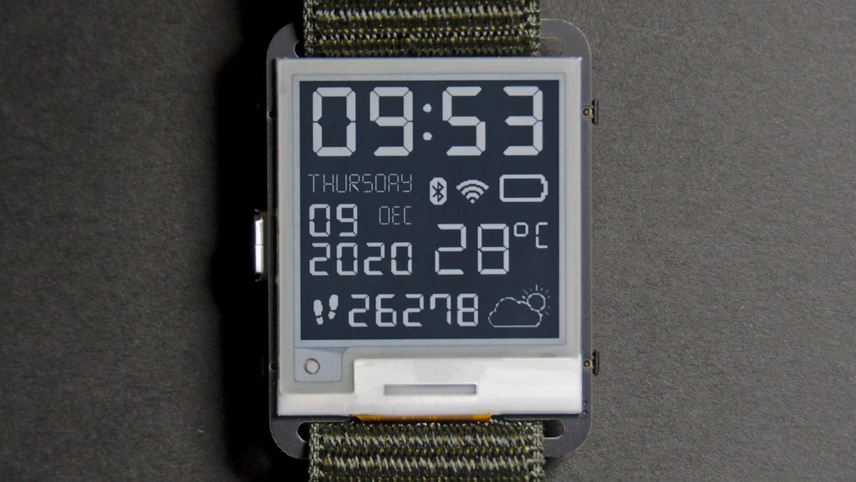 photo of The Watchy Is an Open-Source Smartwatch for Those Who Miss the Pebble image
