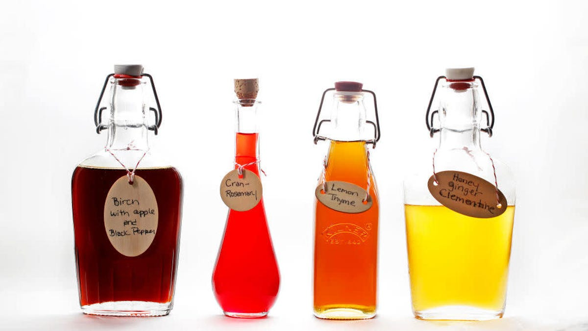 Flavored simple syrups are a home cocktail game changer