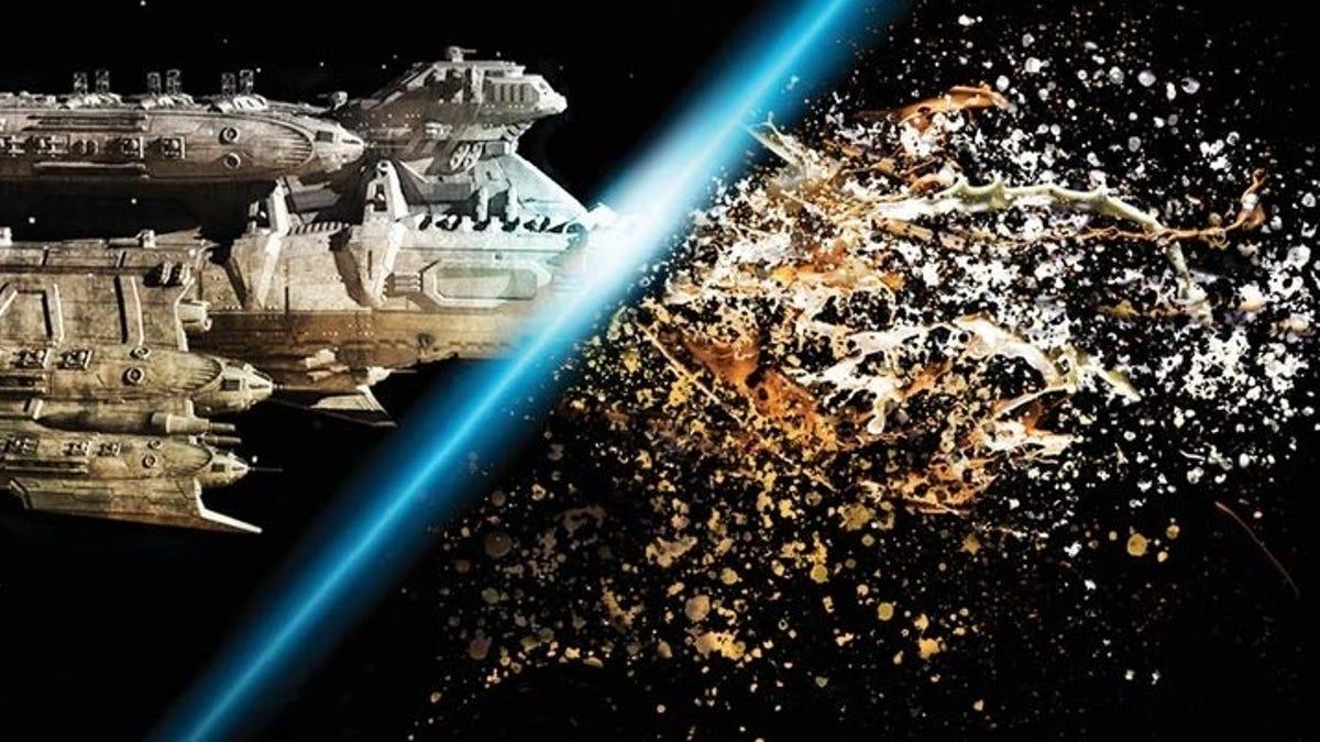 My Favorite Cinematic Space Battles