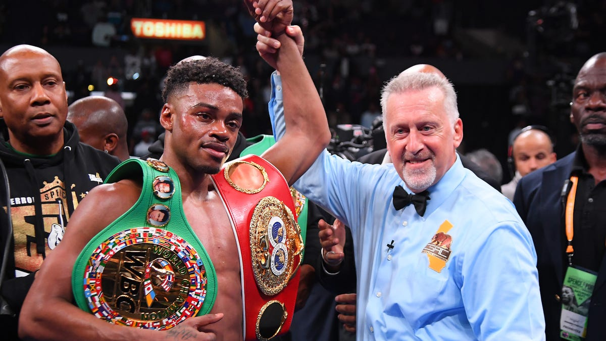 Errol Spence Jr. Expected To Live After Being Ejected From Rolling Ferrari