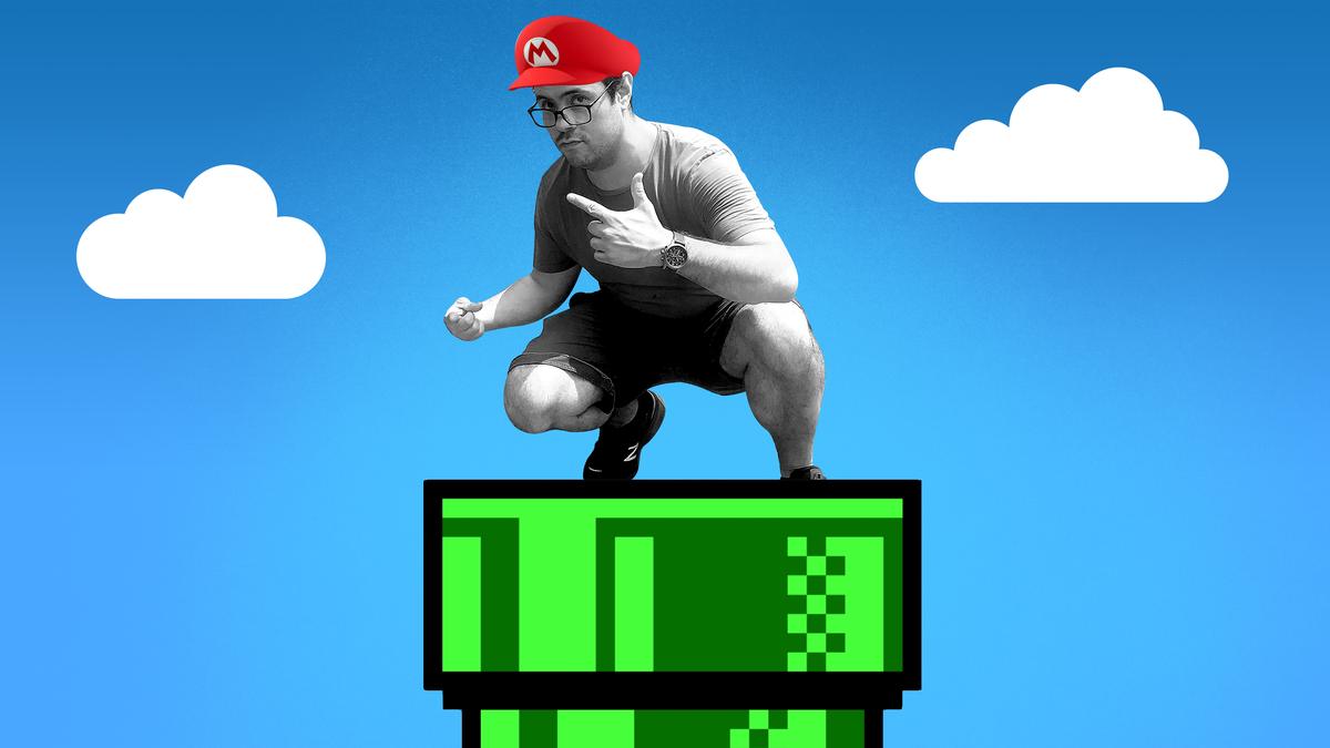 It's a-Goodbye, Mario