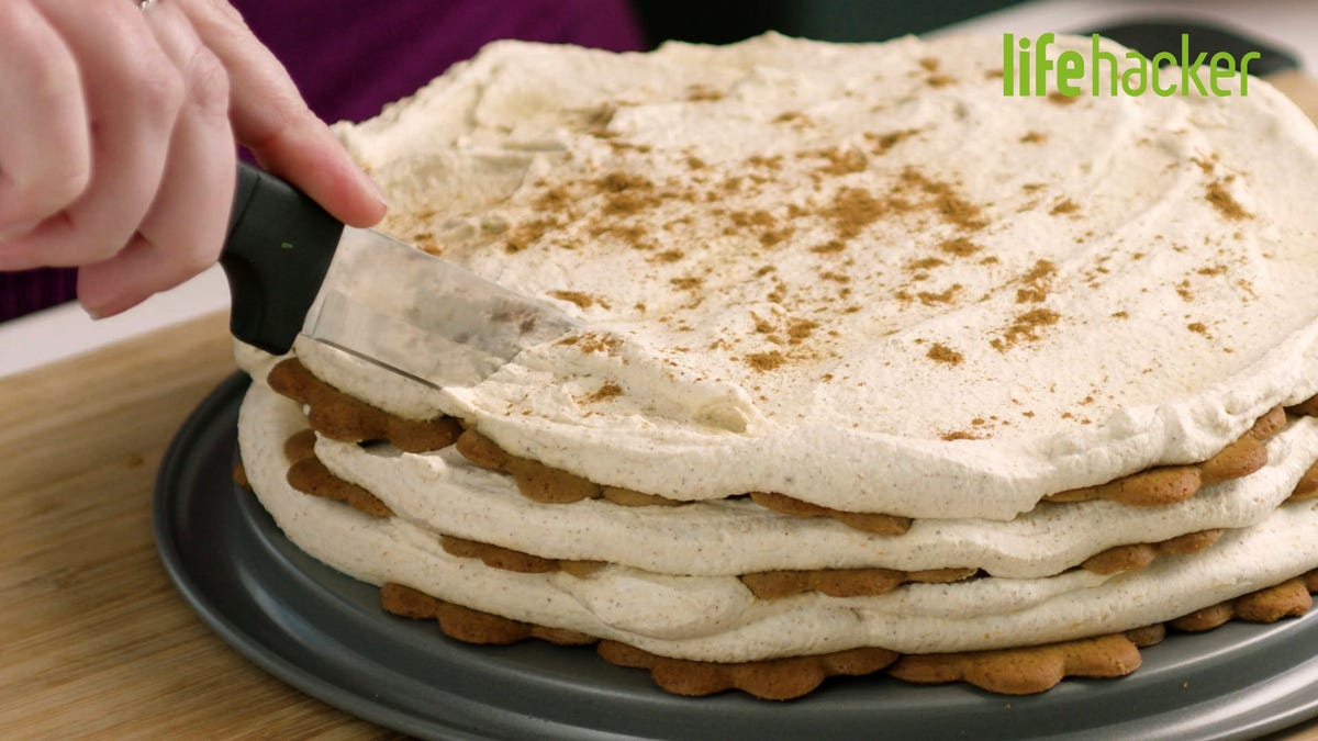 Pumpkin Icebox Cake Is a Perfect Thanksgiving Dessert for Lazy People