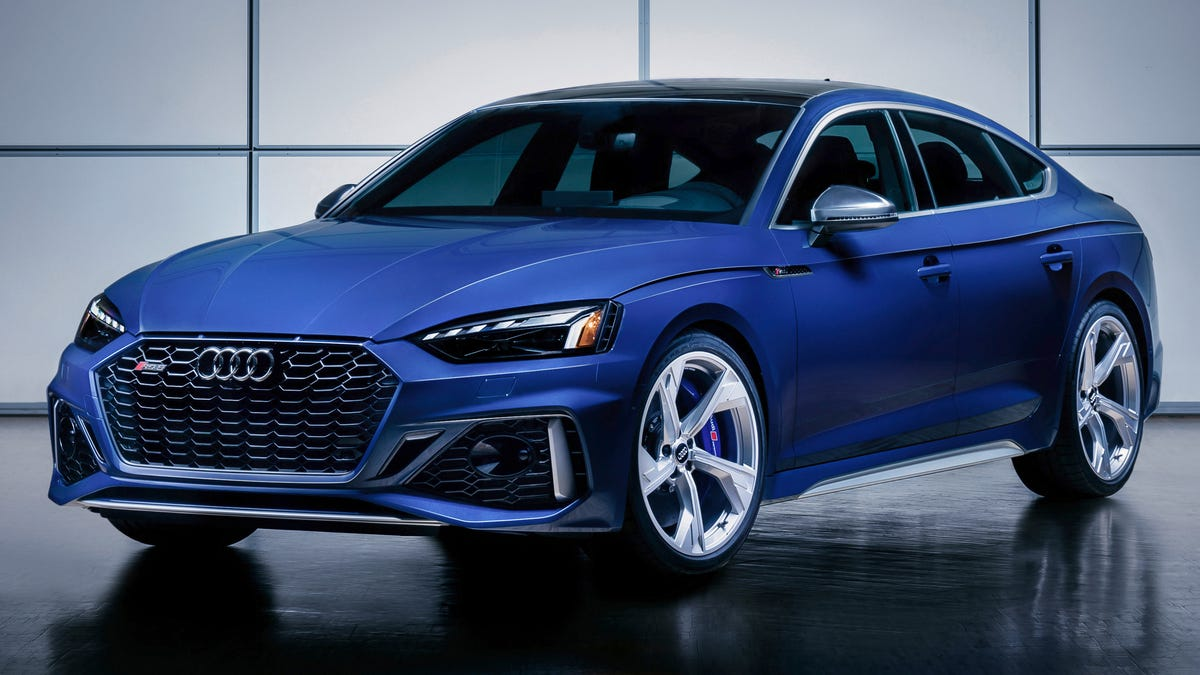 The 2021 Audi Rs5 Coupe And Sportback Launch Editions Feature Awesome New Paintwork And Blue Brakes