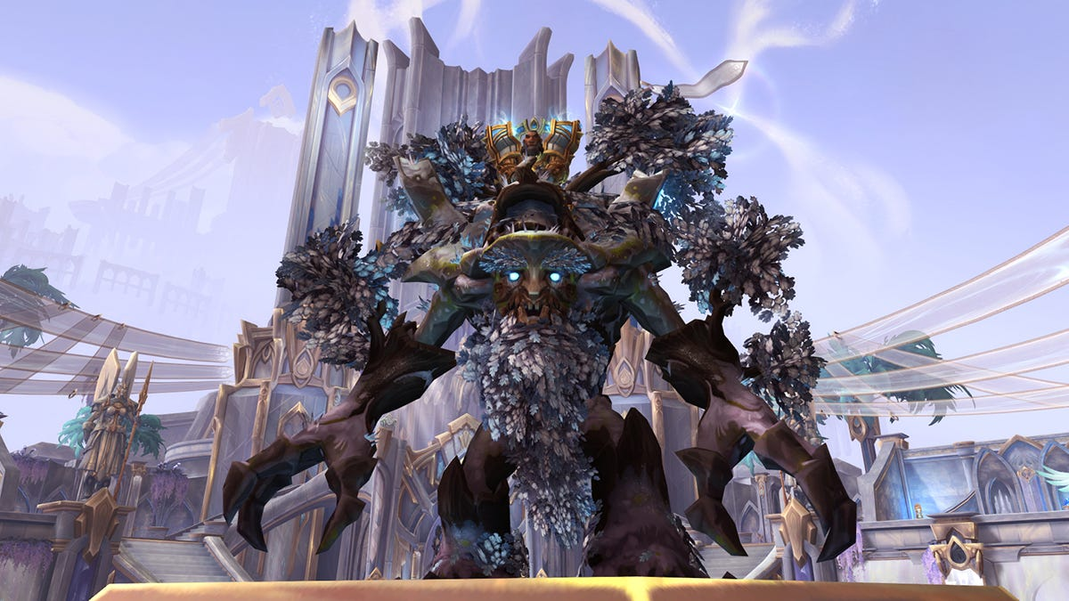 World Of Warcraft's First Player-Voted Mount Is A Big Ol' Tree You Can Get For Free - Kotaku