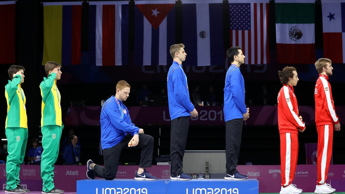 IOC Bans Athletes from Kneeling, Protesting During Tokyo Olympics. Good Luck With That