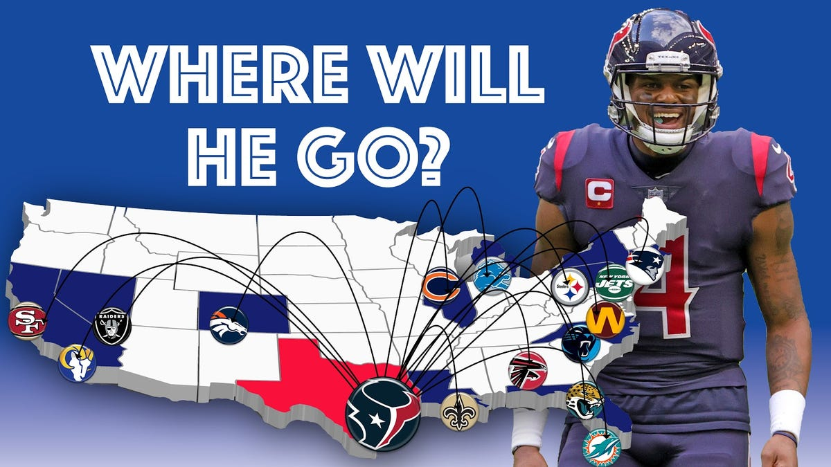 Where in the world should Deshaun Watson go?