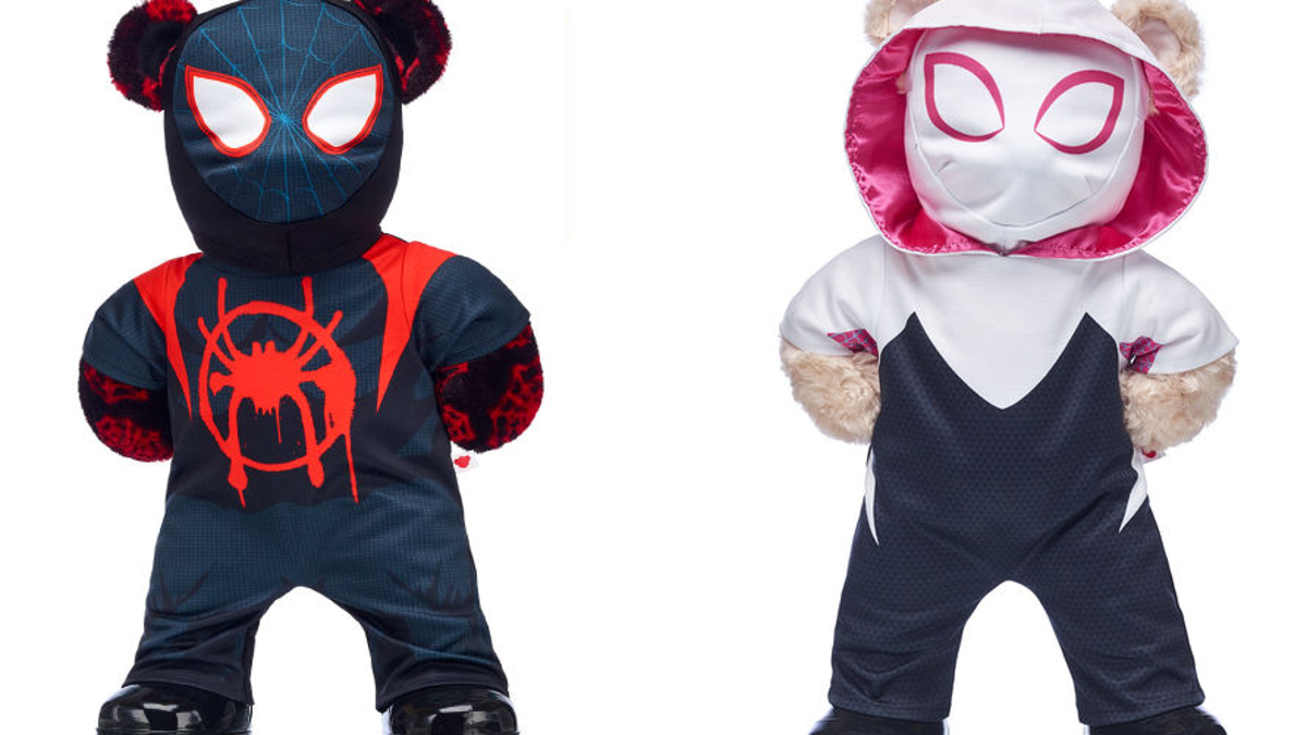 Adorable Into the Spider-Verse Heroes From Build-a-Bear Workshop Have Arrived