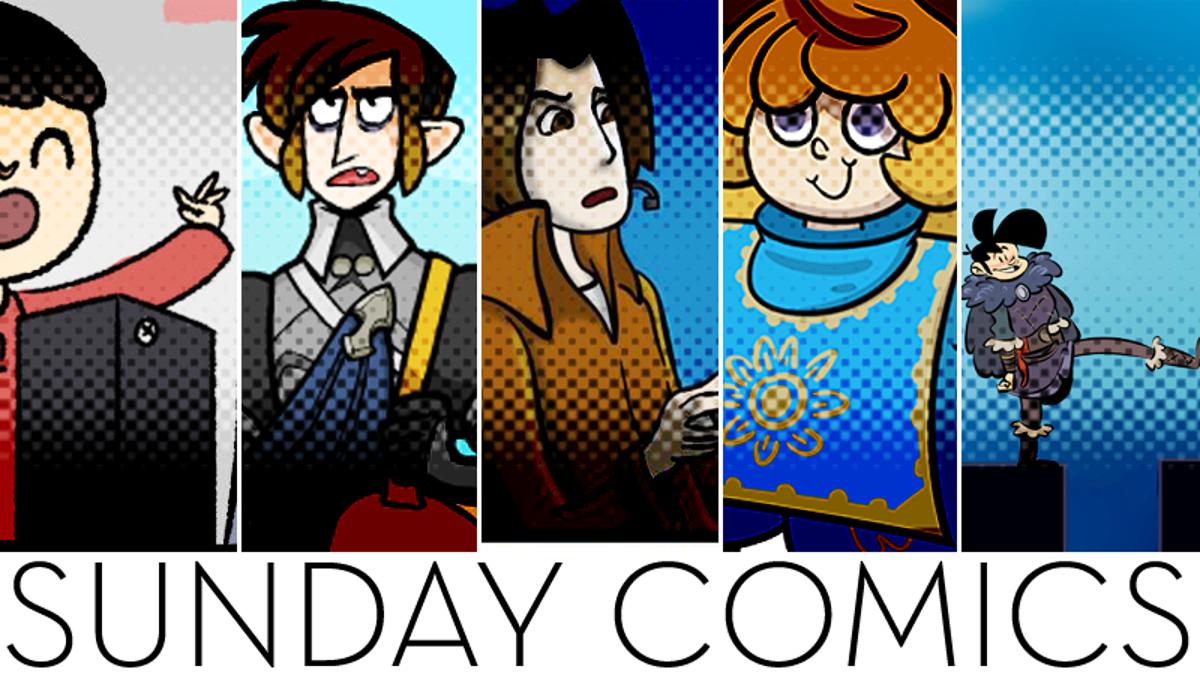 Sunday Comics: Demon's Souls