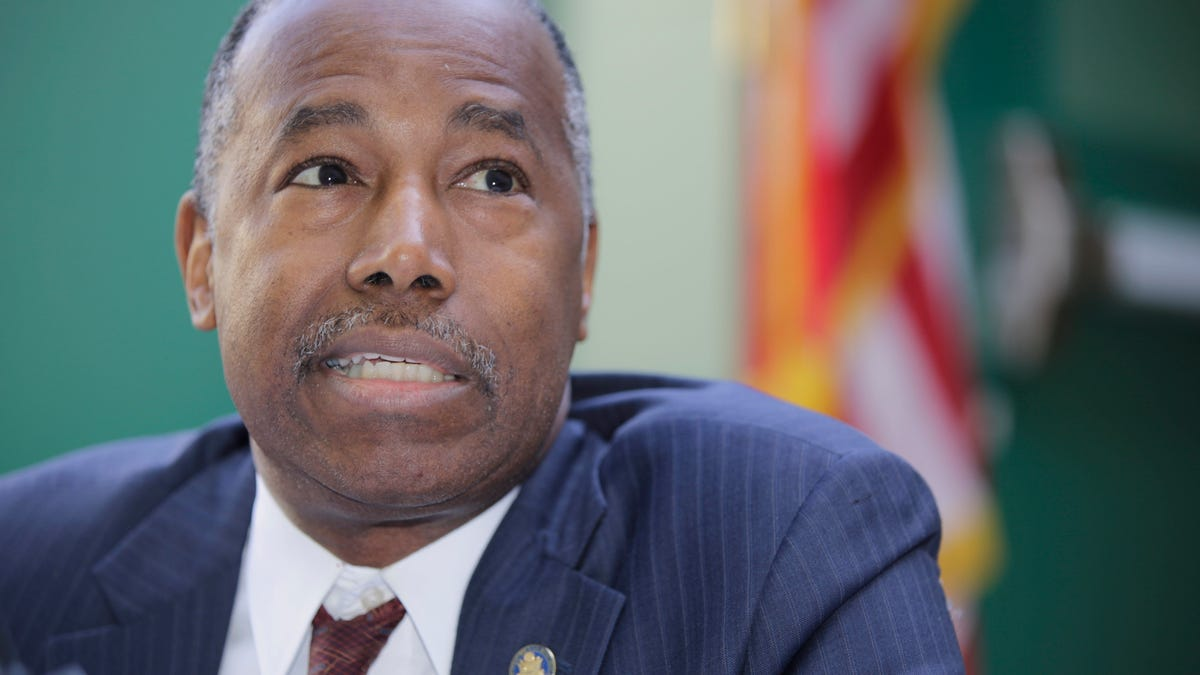 HUD Secretary Makes Transphobic Comments During Rambling Speech
