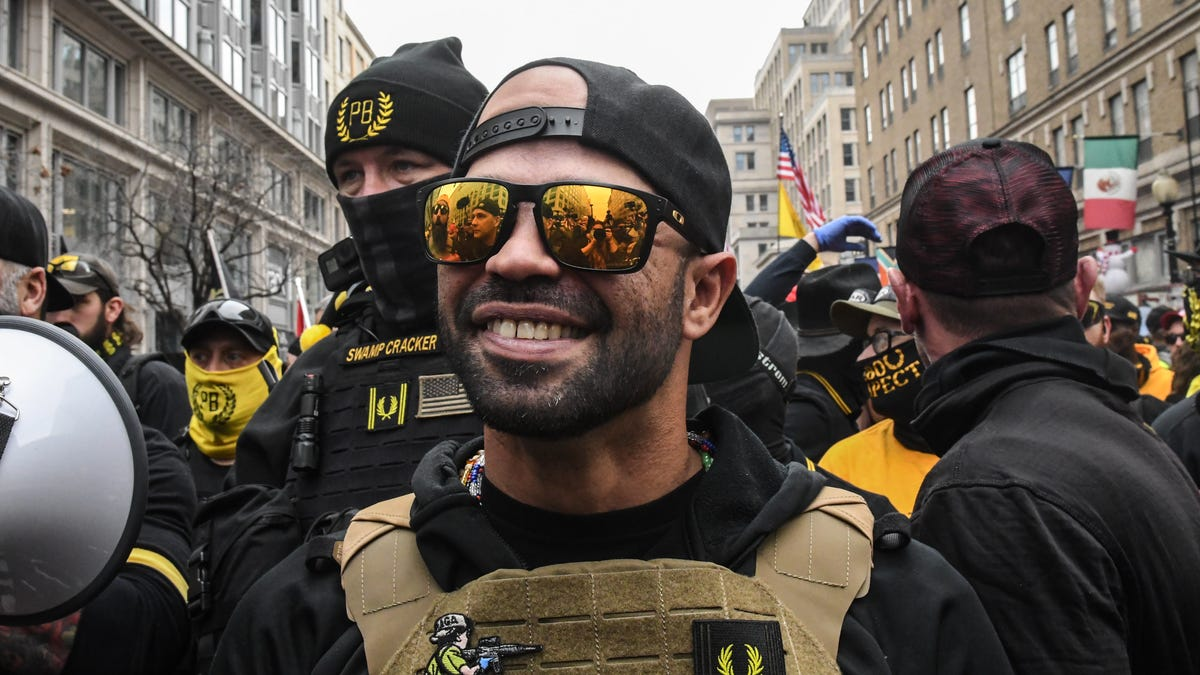 Proud Boys Leader Was a Snitch For the Feds