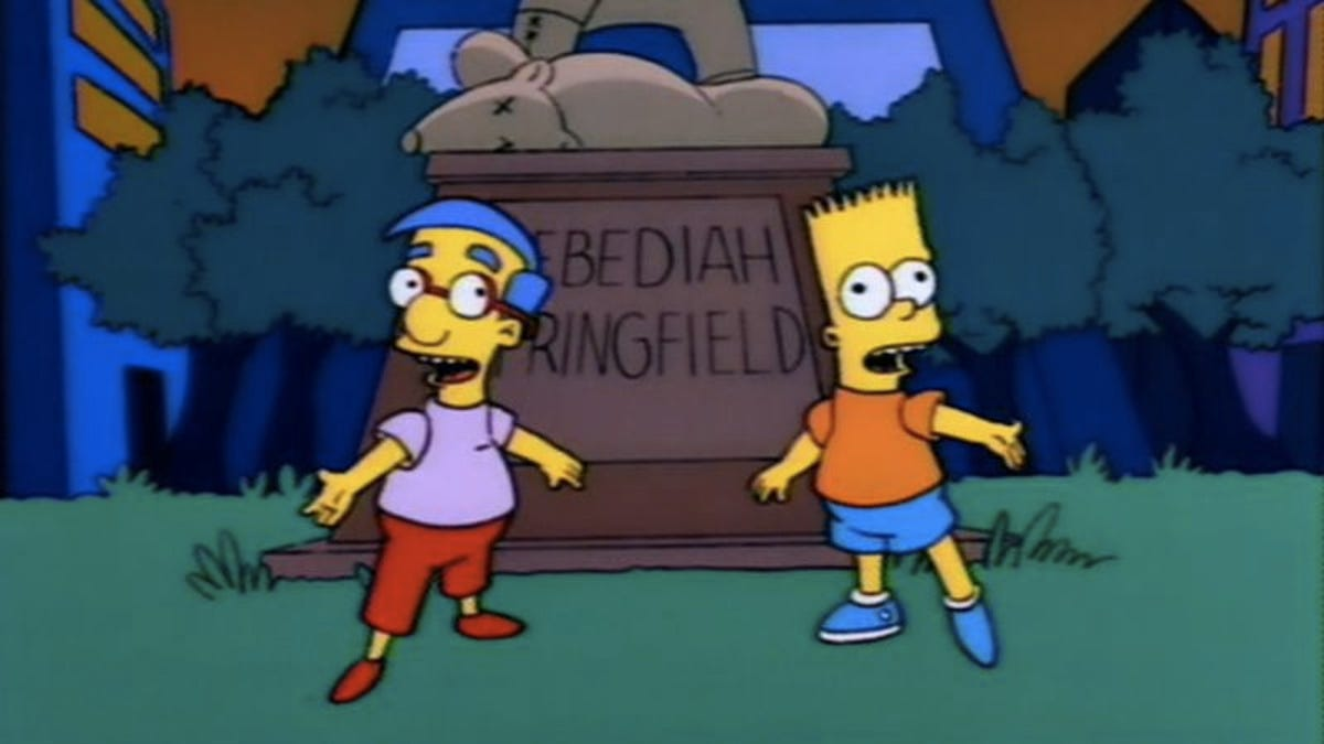 "Bart Fucks Milhouse the simpsons (classic): ""boy-scoutz 'n the hood"""