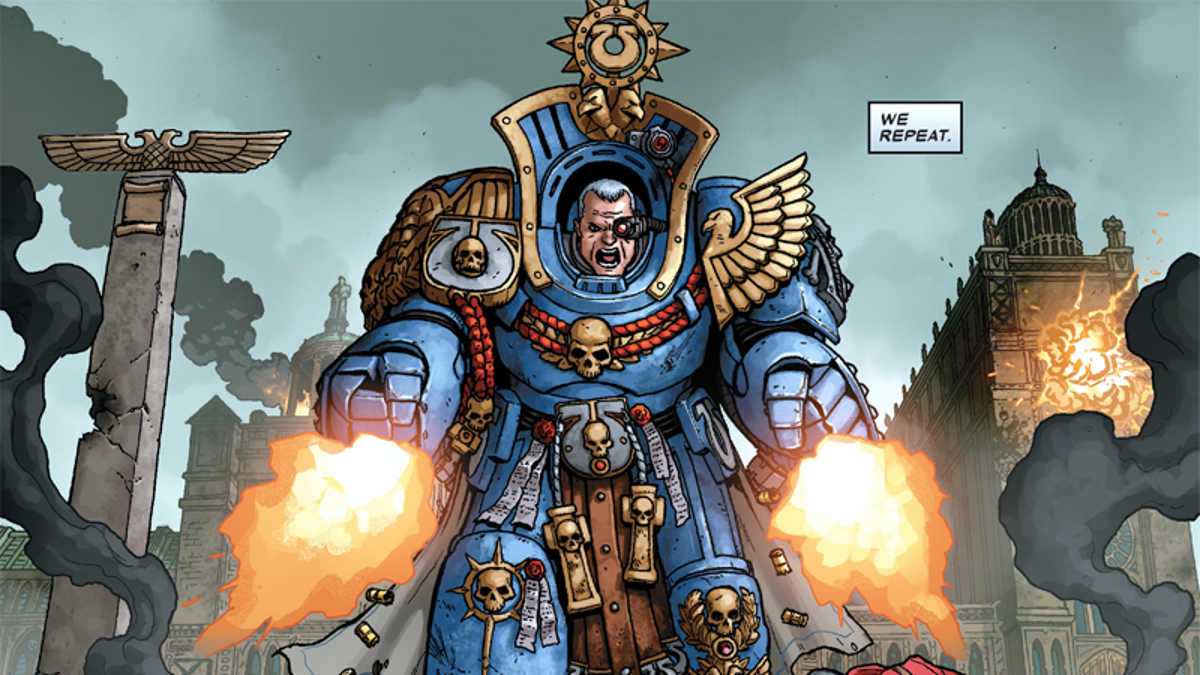 The Best Thing in Marvel's Loud Warhammer Comic Is the Quietest Detail
