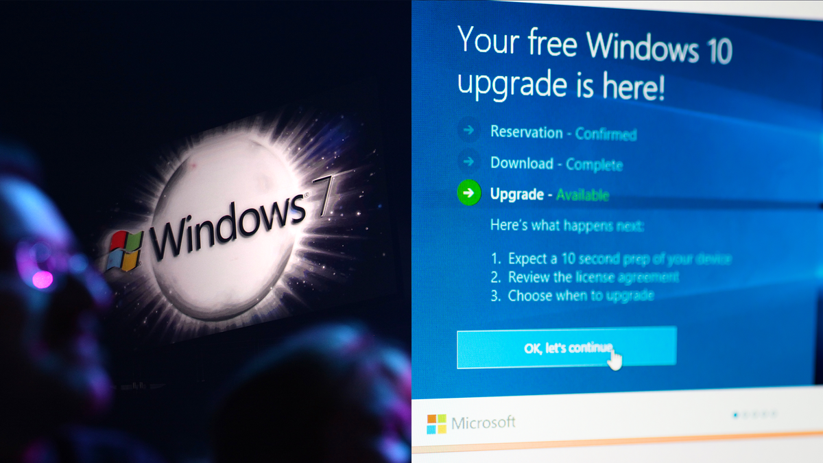 Quickly Upgrade Windows 7 To 10