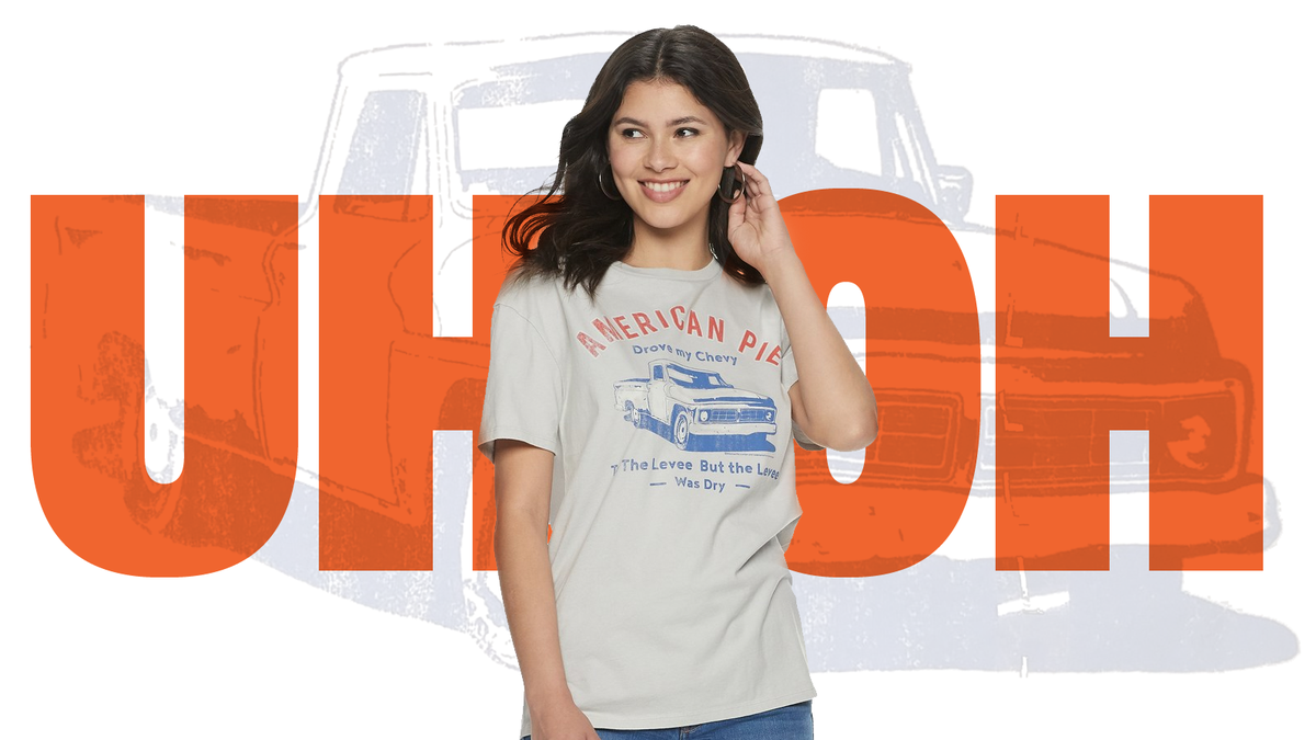 Kohl's Is Selling a T-Shirt with a Truck on It That Could Inspire Fights and Riots