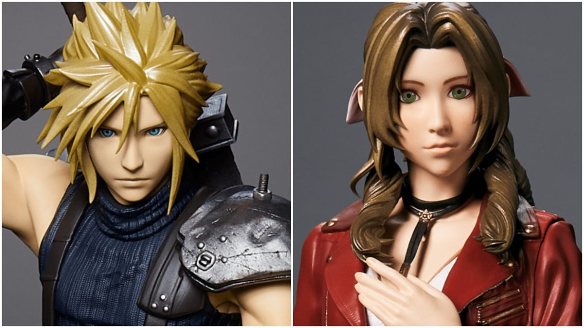 These Commemorative Final Fantasy VII Remake Figures Don't Look So Good