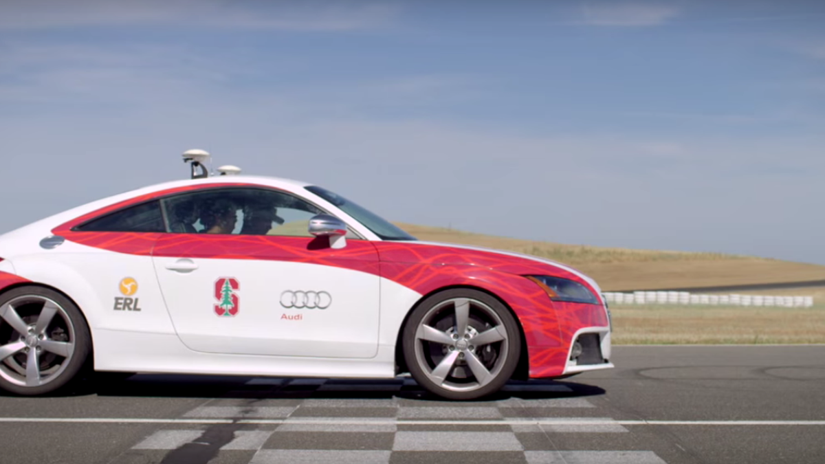 The First Autonomous Car Track Day Will Push Driverless Cars To Their Limits