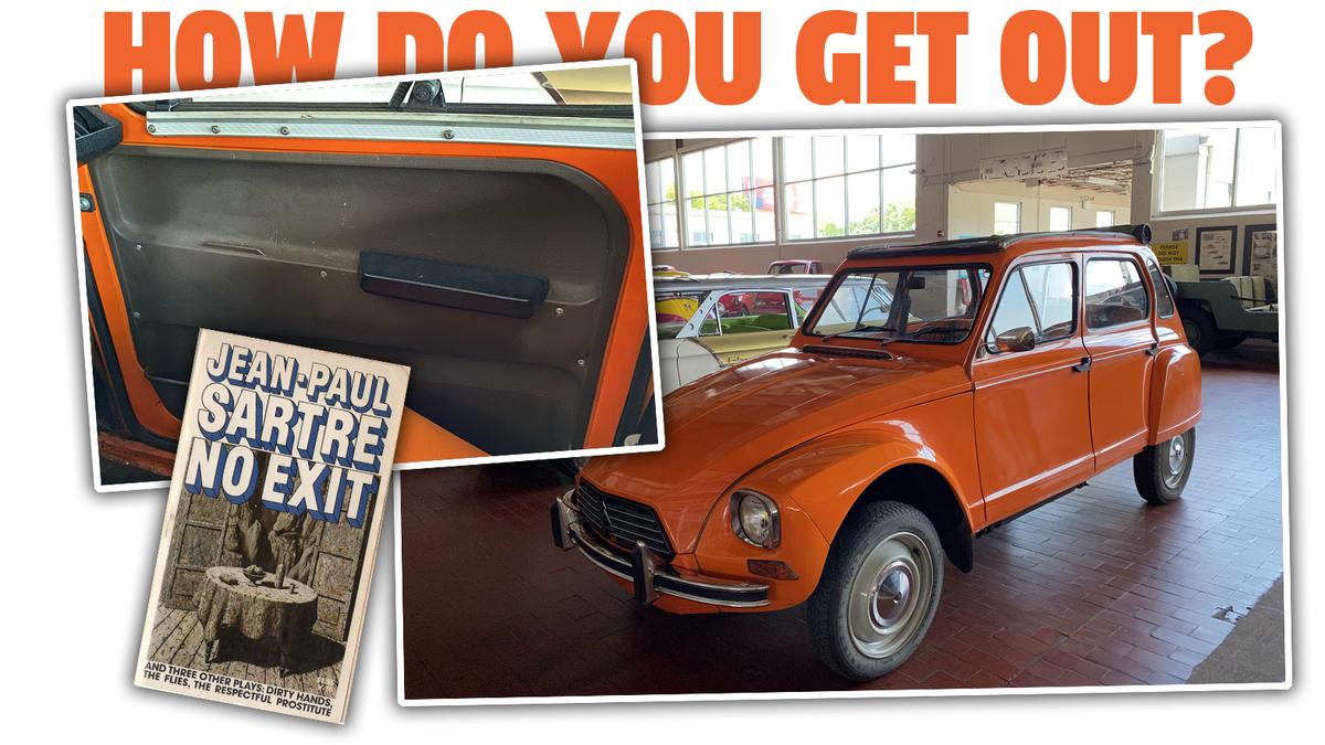 Können Sie das Geheimnis der Citroën Dyane-Innentürgriffe lüften?€
