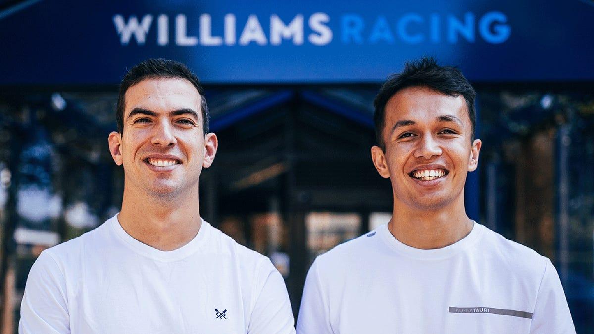 Alex Albon ist zurück in der Formel 1, diesmal bei Williams€