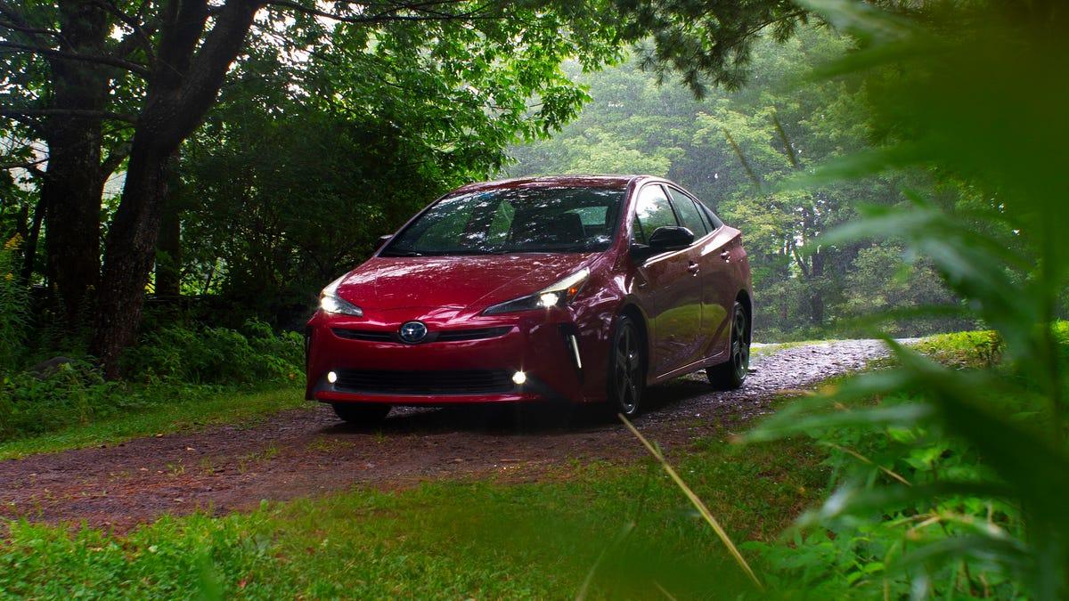 Was ist passiert, dass der Toyota Prius so gut aussieht?