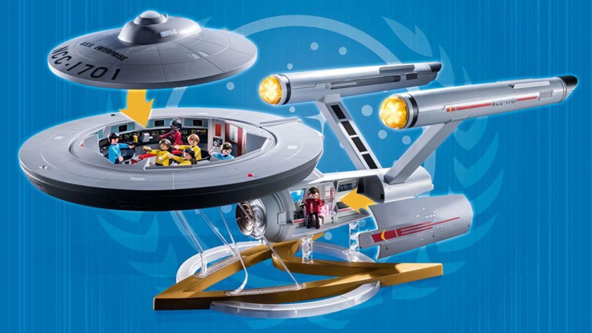 Star Trek Playmobil Enterprise Set: Original Series Enterprise
