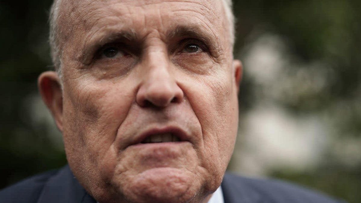 Giuliani to Congress Eyeing Boss Trump's Impeachment: I Got Nothing to Say