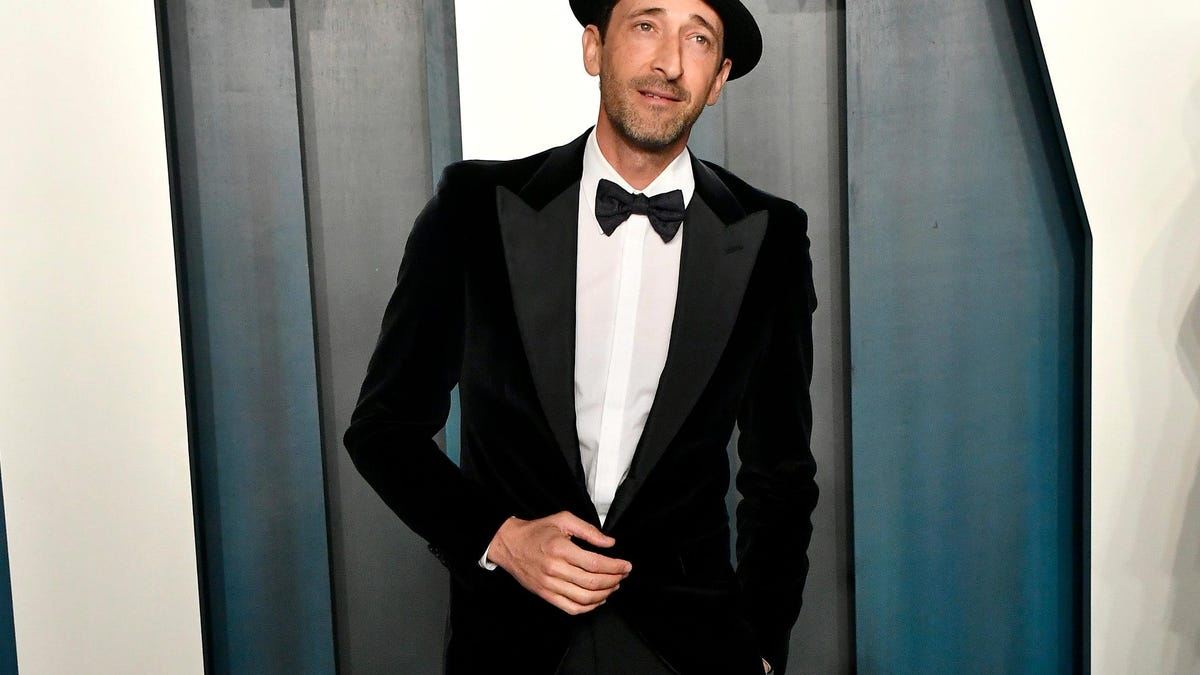 Tall man Adrien Brody to guest star on Succession, the show for tall men - The A.V. Club