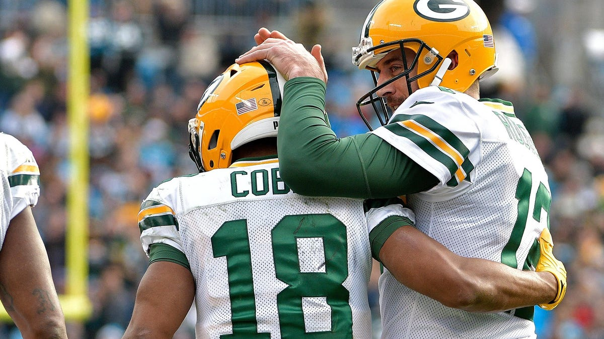 Green Bay continues trying to please Aaron Rodgers by targeting favorite Randall Cobb