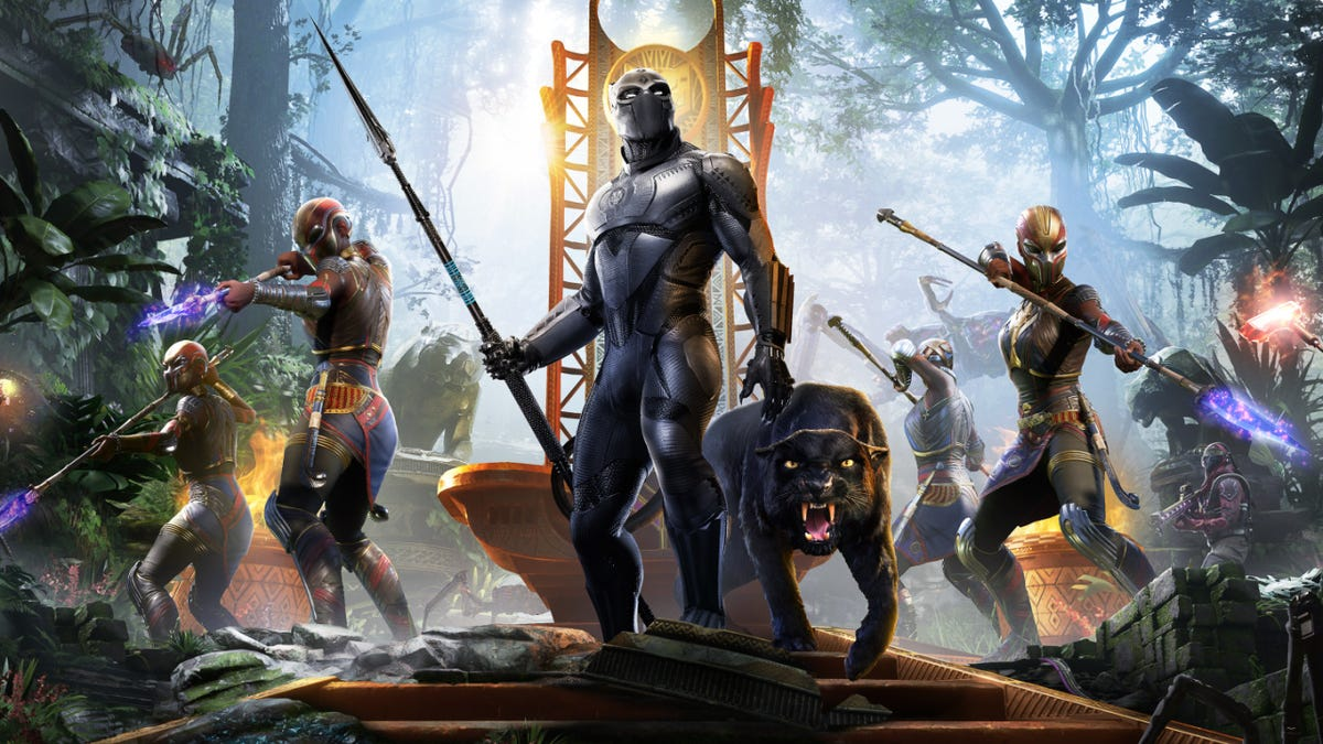Marvel's Avengers Is Free This Weekend In Anticipation Of Black Panther