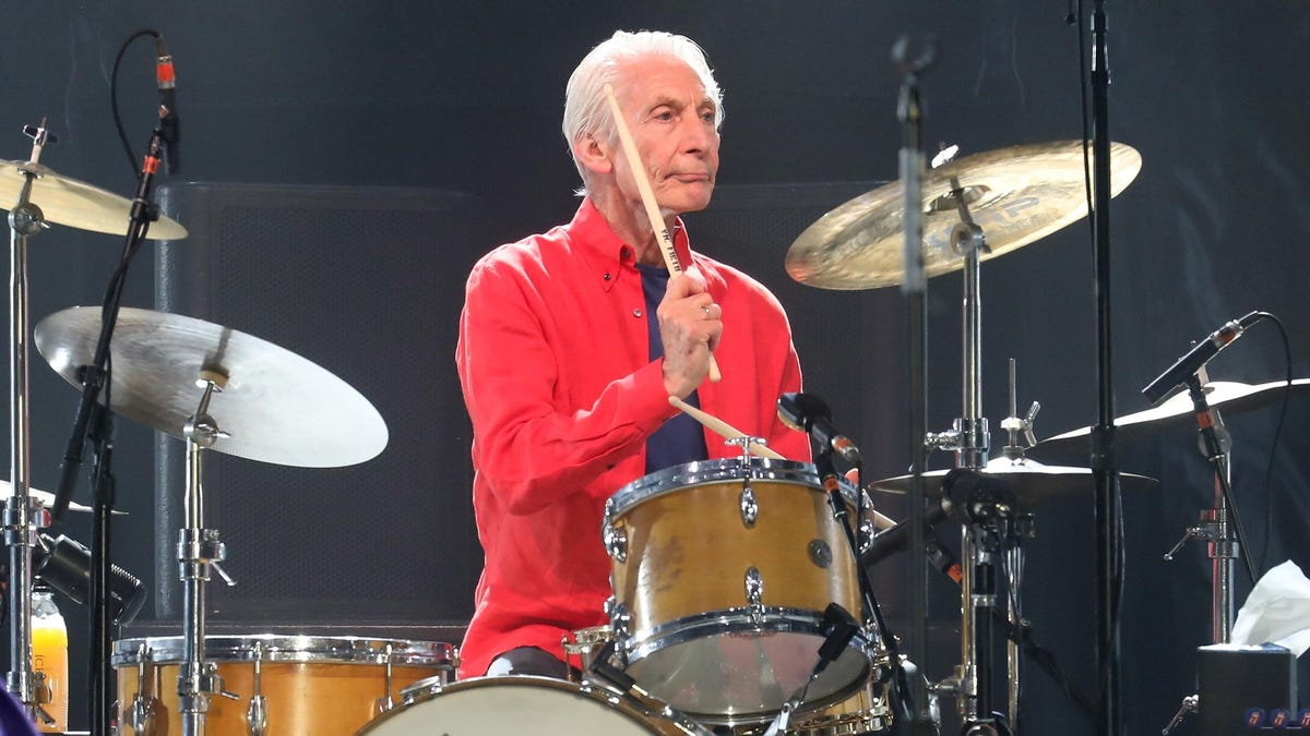 R.I.P. Charlie Watts, drummer for The Rolling Stones