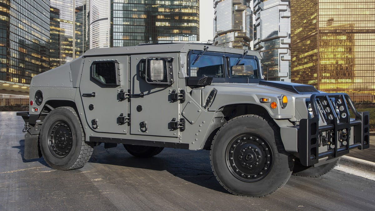 new styles 65af7 caebb The NXT 360 Is The Next-Gen Humvee